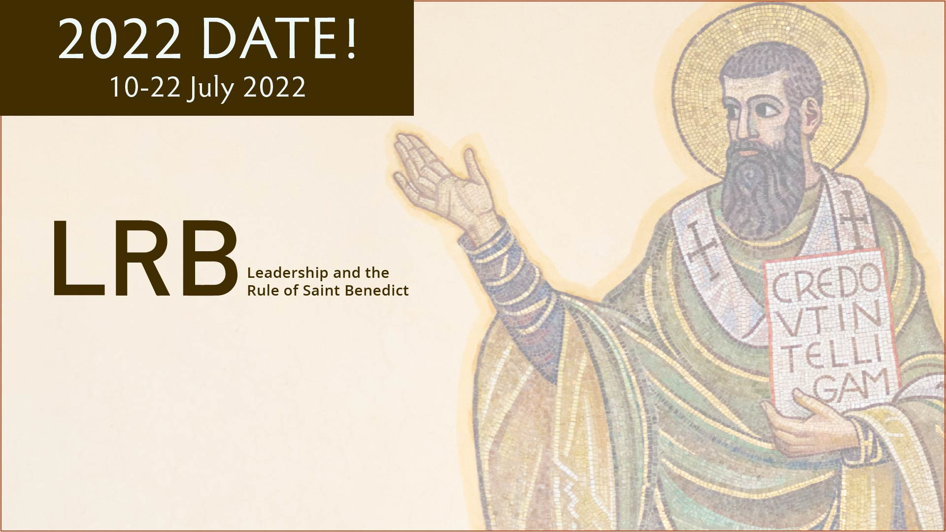 Leadership and the Rule of Saint Benedict graphic